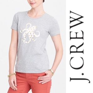 J. Crew Octopus collector Tee In S